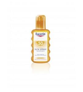 Eucerin Sun sprej za zaščito pred soncem ZF50, prozoren 200 ml