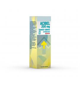 Acibel 200 mg šumeče tablete