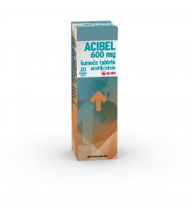 Acibel 600mg šumeče tablete, 20 šumečih tablet