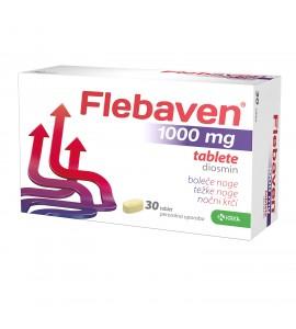 Flebaven 1000 mg, 30 filmsko obloženih tablet
