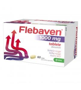 Flebaven 1000 mg, 60 filmsko obloženih tablet