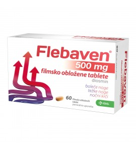 Flebaven 500 mg, 60 filmsko obloženih tablet