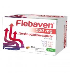 Flebaven 500 mg, 120 filmsko obloženih tablet