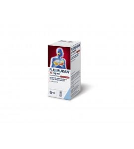 Fluimukan 20mg/mL, peroralna tekočina z okusom češnje, 200mL