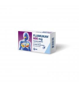 Fluimukan 600mg, 10 šumečih tablet