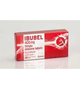 Ibubel 400mg, 20 filmsko obloženih tablet