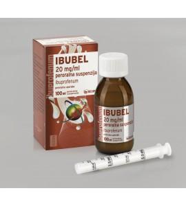 Ibubel 20mg/mL, peroralna suspenzija, 100mL