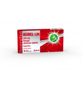 Ibubel Lin 200mg, 10 filmsko obloženih tablet