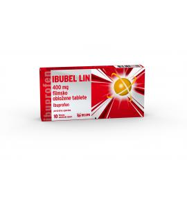 Ibubel Lin 400mg, 10 filmsko obloženih tablet