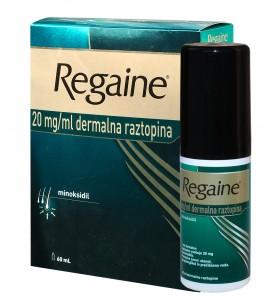 Regaine 2% dermalna raztopina, 60mL