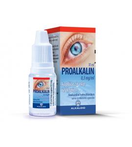 Proalkalin 0,3mg/mL, kapljice za oko