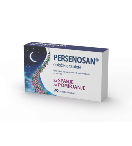 Persenosan, 30 obloženih tablet