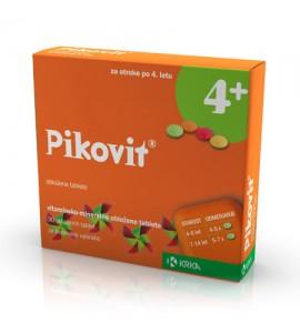 Pikovit 4+, 30 obloženih tablet