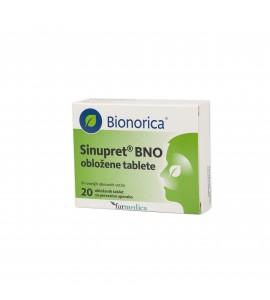 Sinupret BNO, 20 obloženih tablet