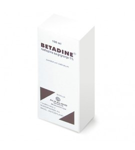 Betadine 10mg/mL, raztopina za grgranje, 100mL