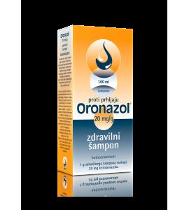 Oronazol 20mg/g, zdravilni šampon, 100mL