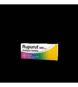 Rupurut 500mg, 20 žvečljivih tablet