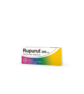 Rupurut 500mg, 50 žvečljivih tablet