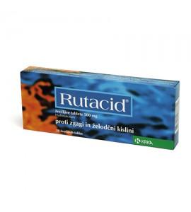 Rutacid 500mg, 20 žvečljivih tablet