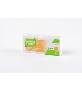 Tantum Verde z okusom pomaranče in medu, 3mg, 20 pastil