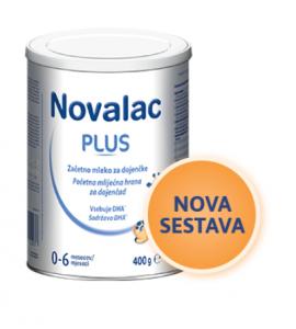 Novalac Plus - začetno mleko za dohranjevanje, 400g