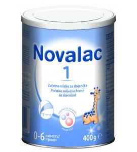 Novalac 1 - začetno mleko za dojenčke, 400g