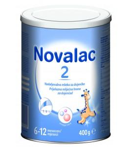 Novalac 2 - nadaljevalno mleko za dojenčke, 400g