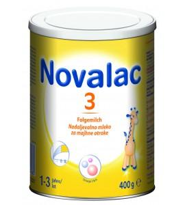 Novalac 3 - nadaljevalno mleko za malčke, 400g
