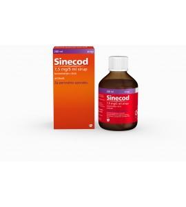 Sinecod 7,5mg/5mL, sirup, 200mL