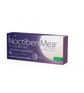 Noctiben Mea 15mg, 10 filmsko obloženih tablet