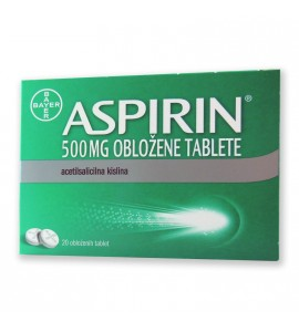 ASPIRIN 500 mg tablete, 20 obloženih tablet